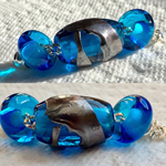 CiM Cerulean with Tahitian Pearl shards