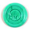 An opaque green.